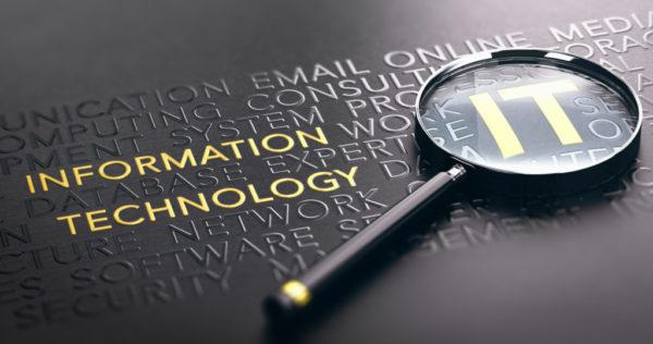 Focus on IT Or ITSM Information Technology Service Management Concept.